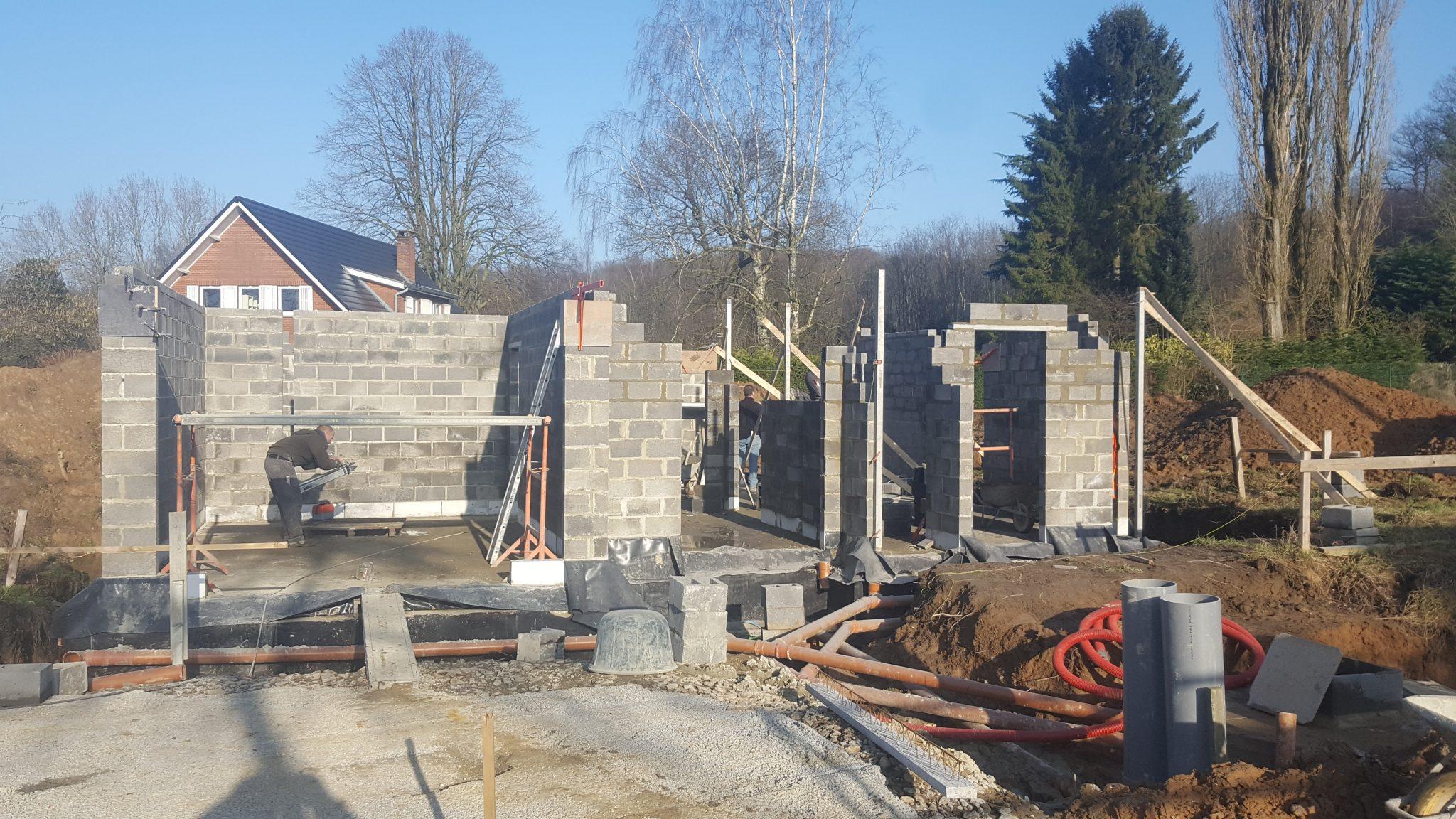 Construction de maison frameries ic r novation for Construction de villa