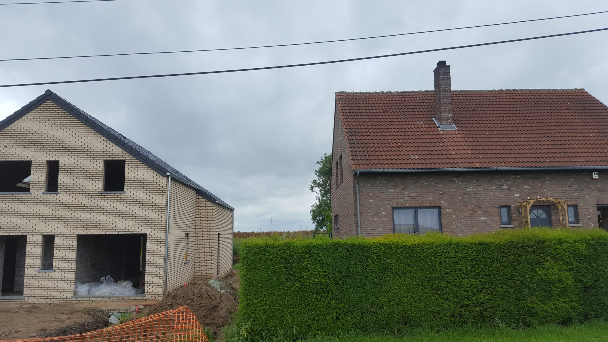 16 Charpente Toiture Construction Villa Charleroi Ic
